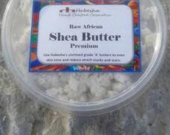 Grade A Unrefined White Shea Butter