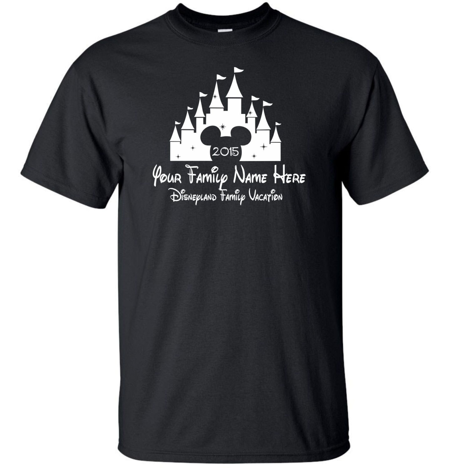 Custom disney vacation t shirt by mathesongraphics on etsy for Custom made tee shirts