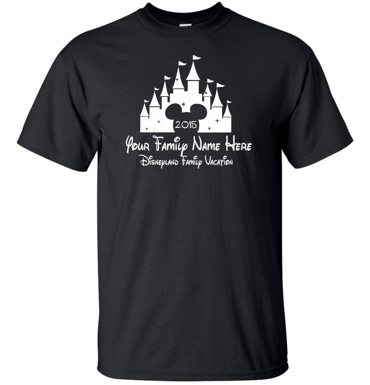 Custom disney vacation t shirt by mathesongraphics on etsy for Single order custom t shirts