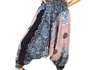 Beautiful Strips Harem Pants Wide Leg Pants (HA01-4)