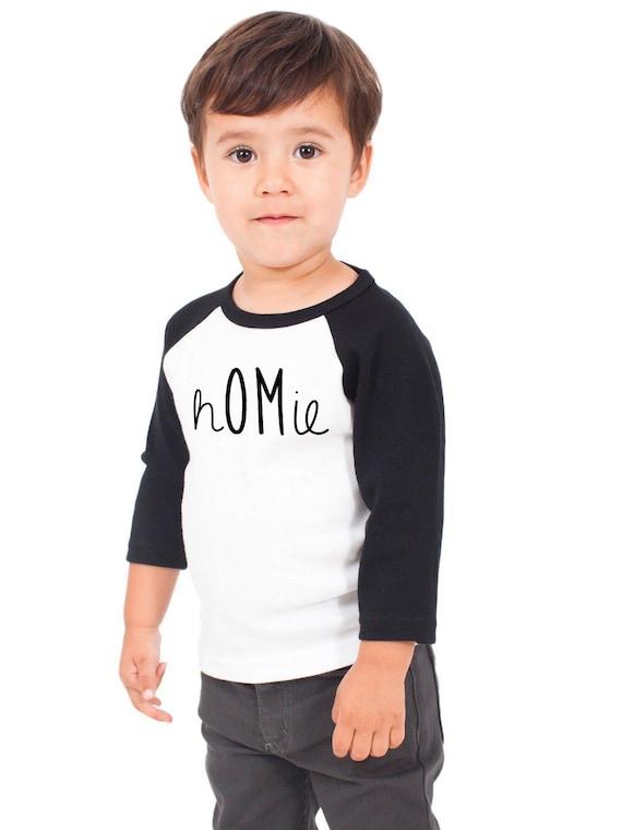 2t Kids Homie Raglan Yoga T Shirt Kids Graphic By