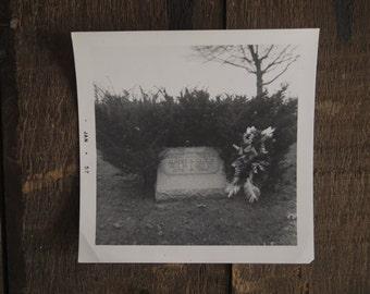 Original 1957 Grave Photo