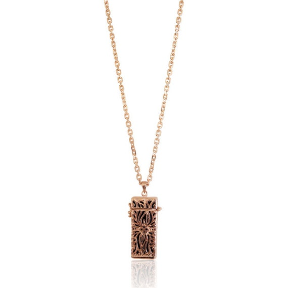 Necklace LILO - Flex Jewelry - made from Silver - 18K ROSE GOLD