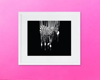 Discount - Zebra Wall Art - Animal Print - Zebra Print - Instant Download - Digital print - Wall Art print - Printable Poster