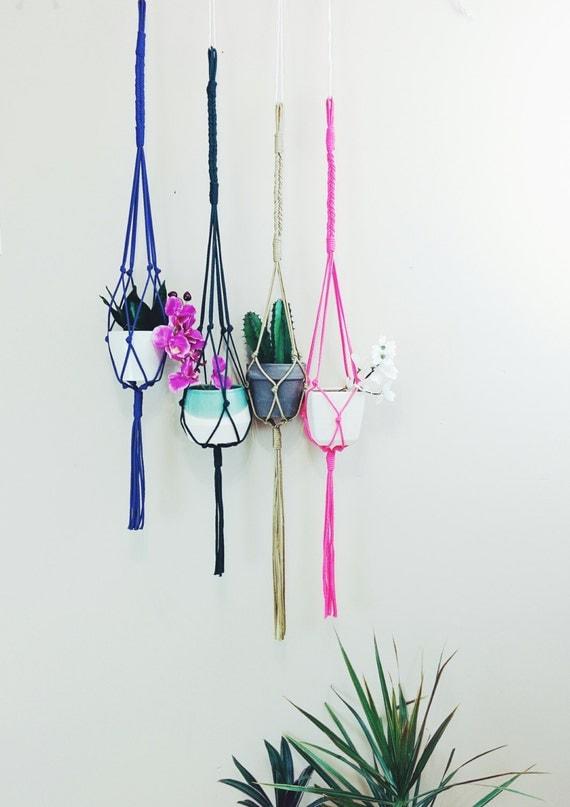 Hanging planters, plant hangers, indoor hanger, outdoor hanger, plant ...