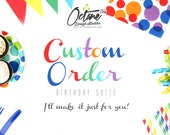 OctaneOnEtsy --- CUSTOM Birthday Invite Only