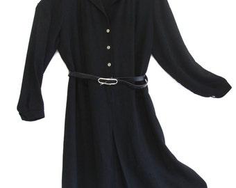 Plus size 80s vintage shirt dress size AU20