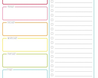 Search results for cool weekly planner template for Cool to do list template
