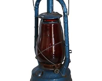 vintage blue lampe