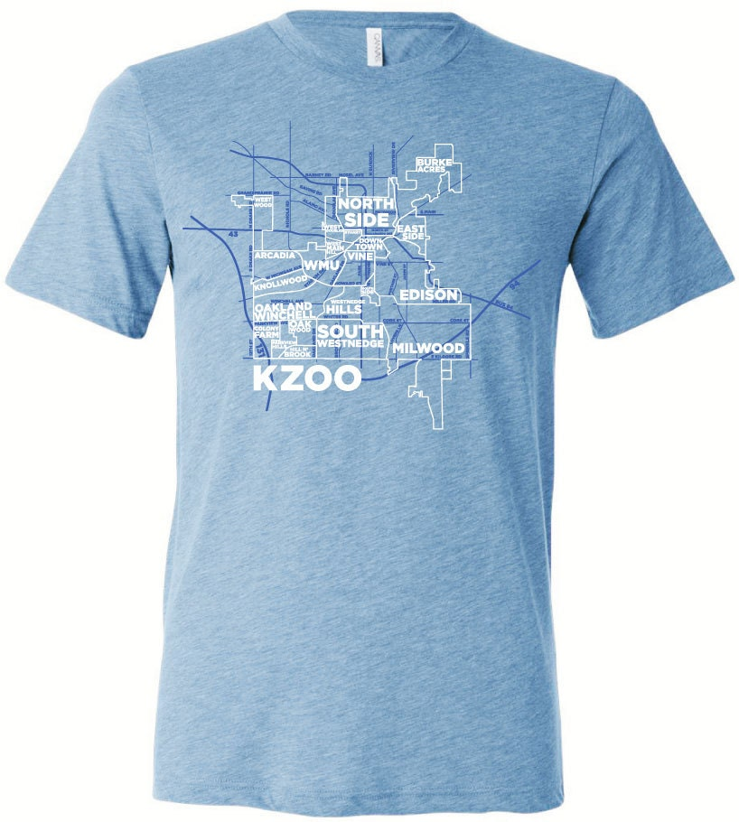 Kalamazoo neighborhoods men 39 s softstyle tee for T shirt printing kalamazoo