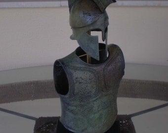 Greek Corinthian Helmet and Armor