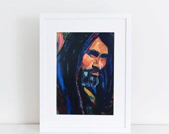 DIGITAL DOWNLOAD, Jesus 8x10
