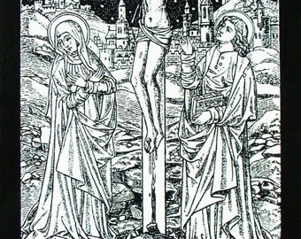 Crucifixion of Jesus - Mary and John at the Cross
