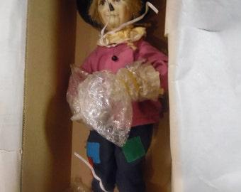 Ashton Drake Scarecrow from Wizard of Oz doll