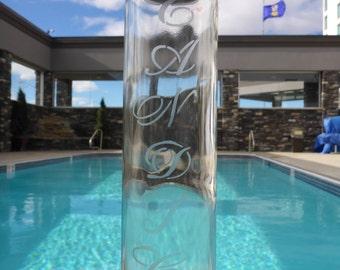 Personalized Glass Water Bottle
