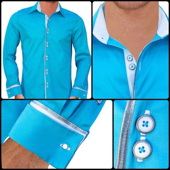 men 39 s rockstar style designer dress shirt made to order