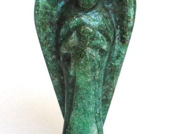 Green Aventurine Crystal Guardian Angel Natural Gift