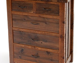 Rustic Barnwood Heritage Collection Chest Of Drawers