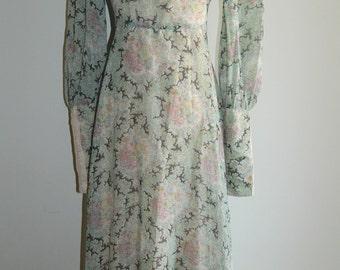 Vintage 1960's Gunne Sax Black Label Dress