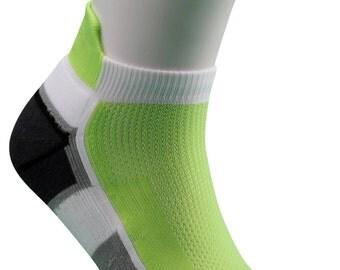 Samson® Running Green Ankle Socks Sport Walking Athletic
