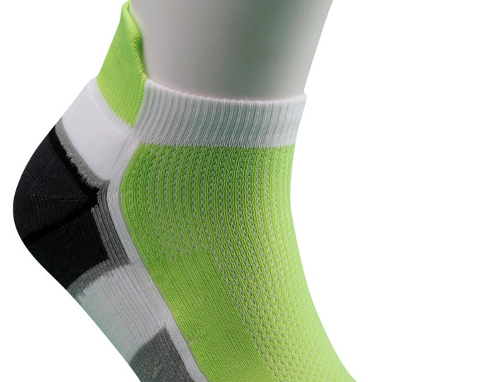 Samson® Running Green Ankle Socks Sport Walking Athletic