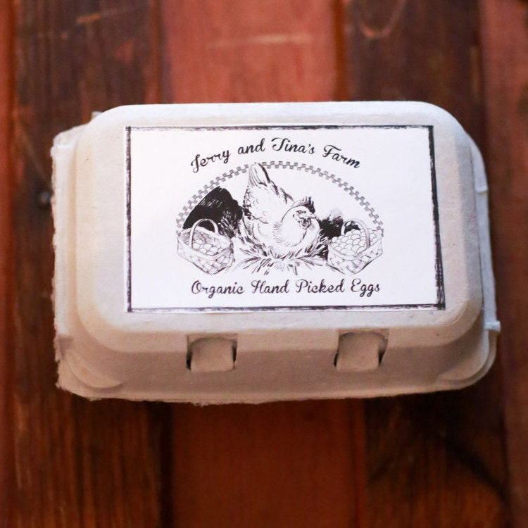 egg carton labels template custom personalized egg carton labels chicken coop supplies