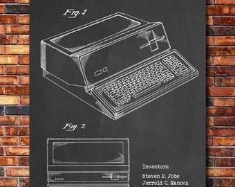 Apple Computer Patent Print Art 1983