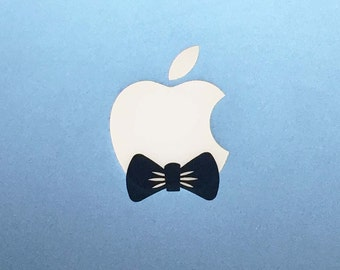 Bow Tie Macbook Decal / Bowtie Macbook Pro Sticker