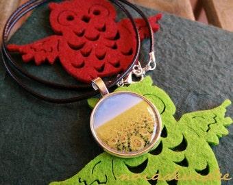 "Necklace ""Sunflower"""