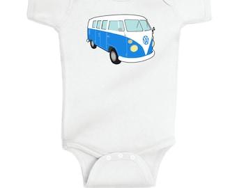 VW Bus Baby Onesie