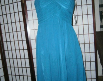 Women's Strapless Short Gown