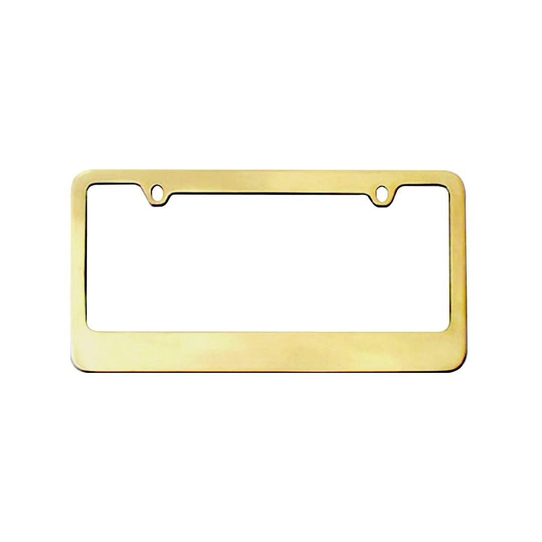 Personalized Car License Plate Frame Metal Frame License