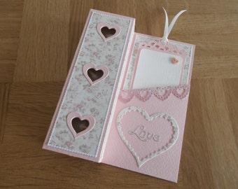 "Tea card ""Love"""