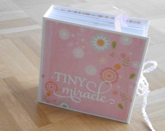 "Baby album ""tiny miracle"""