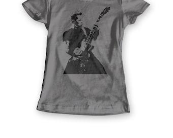 Metallica women's fit t shirt featuring James Hetfield - 3 colour options