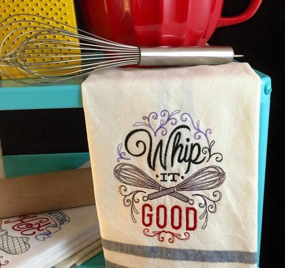 Tea Towel - Whip it good