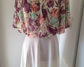 70s Style Summer Lovin Floral Dress