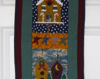 Winter is for the Birds Wall Hanging