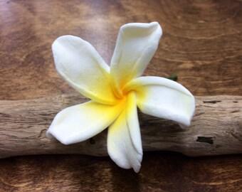 Plumeria Flower Hair Pick