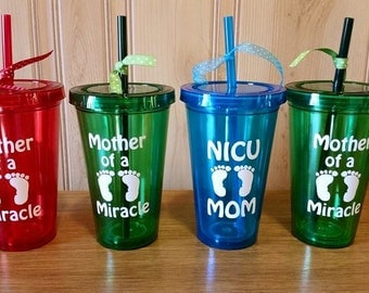NICU Mom, NICU mommy, Mother of a Miracle, Miracle Momma, Personalized, Custom, NICU, Neonatal, Baby,