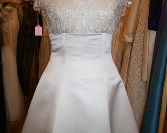 Vintage Hand Made Wedding Dress