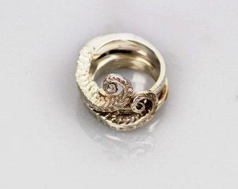 BAHARI FARASI - silver - silver ring - seahorse