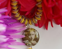 FREE Shipping! Make Me Bracelet   Yellow Bracelet   Charm Bracelet   Girls Bracelet   Bracelet for Her   Jewelry Gift for Girl