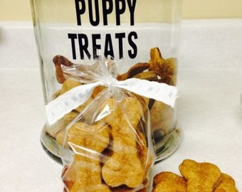 Dog treats Homemade all natural Puppy gift treats