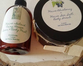 Wild Maine Blueberry and Maine Sea Salt Hand and Body Scrub