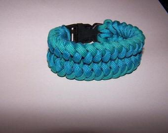 Blue Paracord Bracelet