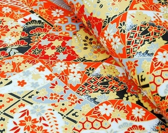 Origami Paper / Yuzen Chiyogami / Washi / Traditional Japanese Favour Crafts 14* 14 / 20 sheets #228
