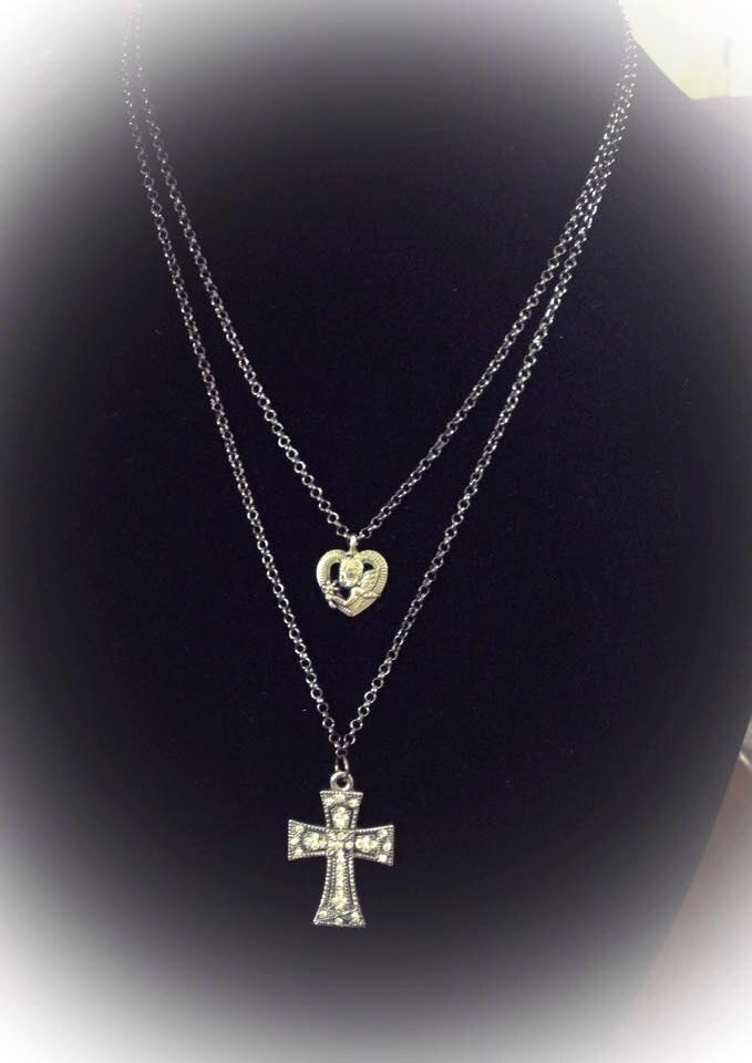Celtic Angel Symbol Celtic Guardian Angel Necklace