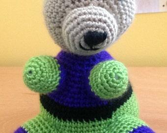 Lex Luthor Crochet Bear
