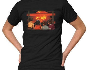 No School Today T-Shirt - Funny Apocalypse TShirt - Mens and Ladies Sizes Small-3X